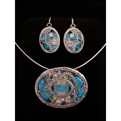 Beautiful handmade Blue set (2)