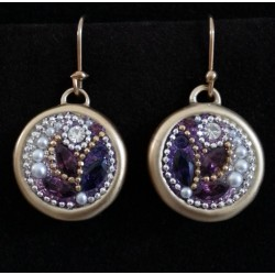 Beautiful handmade Gold & Purple set