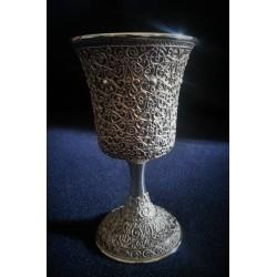 Yemenite Filigree silver cup