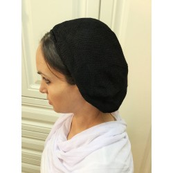 Black knitted Traditional classic Snood