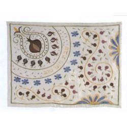 Embroidered Hallah cover Pomegranate design (1)