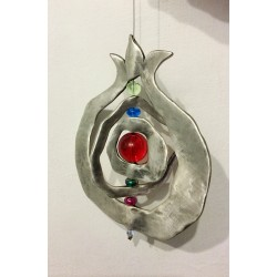 Modern Pomegranate 3 dimensions wall pendant
