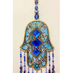 Handmade HAMSA wall pendant- Indian design