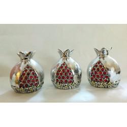 Beautiful silver plated decorative Pomegranate