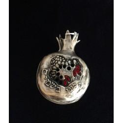 Beautiful decorative spice box – Pomegranate design