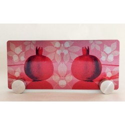 Beautiful decorative napkin holder– Pomegranate design