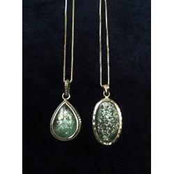 Handmade Unique Roman Glass necklace