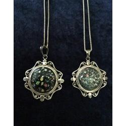Handmade Unique oriental Roman Glass necklace