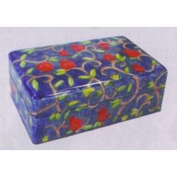 Jewelry box Pomegranate design