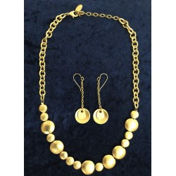 Festive Gold plated Festive  set