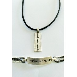 Modern Priestly Blessing Necklace for Men