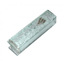 """Broken"" Glass Mezuzah"