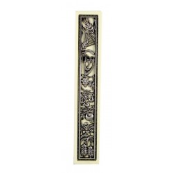 "Wood Mezuzah –""7 Species"" design"
