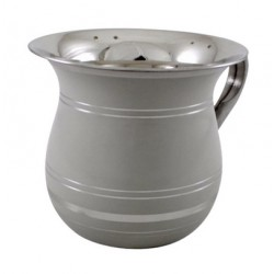 Stainless Steel Washing Cup - Grey