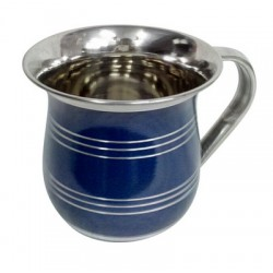 Stainless Steel Washing Cup - Blue