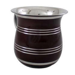 Stainless Steel Washing Cup - Black
