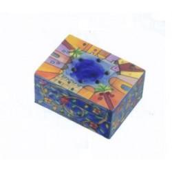 Wooden spice box with cloves - Jerusalem