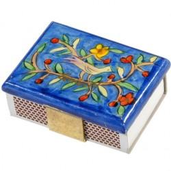 Wooden Matches Holder– Flourishing design