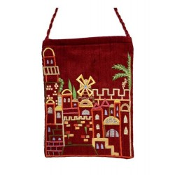 Passport Bag- Jerusalem Design