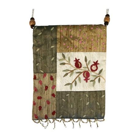 Embroidered Fashion Bag- Pomegranate Design