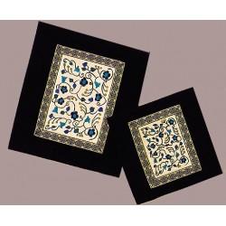 Kuzari Talit & Tefilin bag- Flowers Design