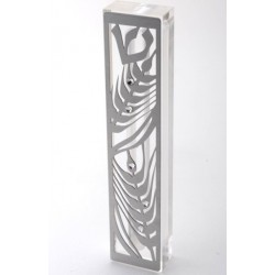 "Metal Mezuzah – ""Wheat"" design"
