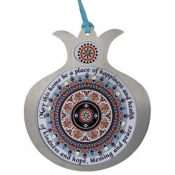 Wall pendant- Home Blessing Ancient manuscript design