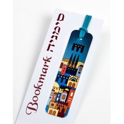 Aluminum Bookmark – Jerusalem Design