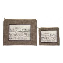 Talit & Tefilin bag- City of David design